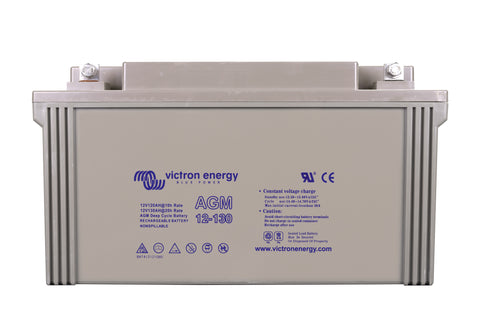 Victron 12V/130Ah AGM Deep Cycle Battery BAT412121084