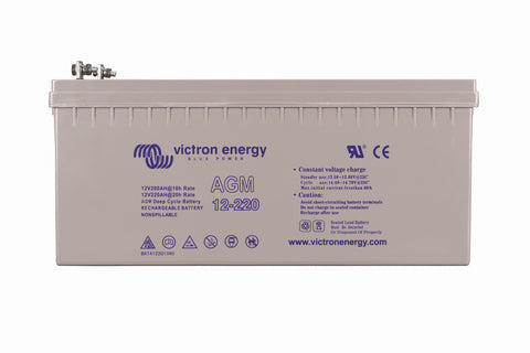 Victron 12V/220Ah AGM Deep Cycle Battery BAT412201084