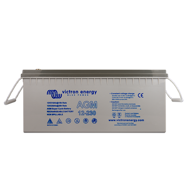 Victron 12V/230Ah AGM Super Cycle Batt. (M8) BAT412123081
