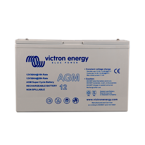 Victron 12V/25Ah AGM Super Cycle Battery (M5) BAT412025081