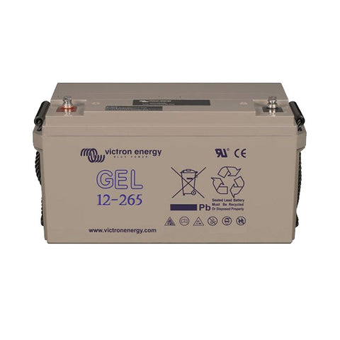 Victron 12V/265Ah GEL Deep Cycle Battery (M8) BAT412126101