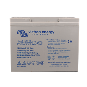 Victron 12V/60Ah AGM Super Cycle Battery (M5) BAT412060081
