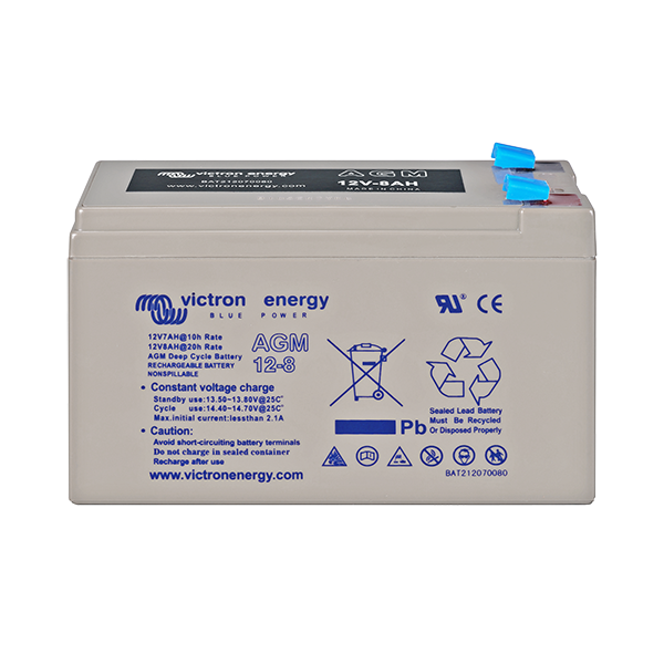 Victron 12V/8Ah AGM Deep Cycle Battery