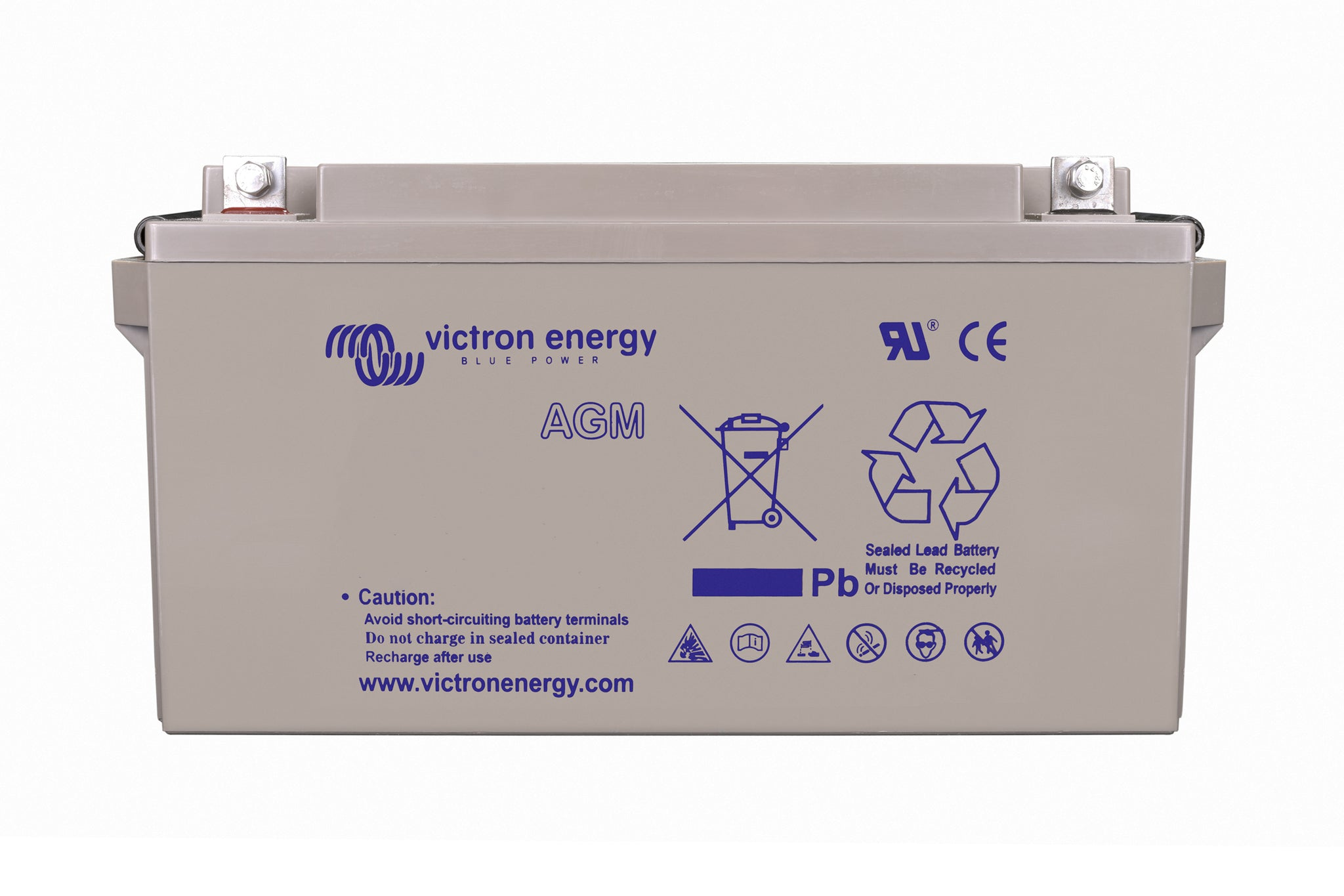 Victron 12V/90Ah AGM Deep Cycle Battery (M6) BAT412800085