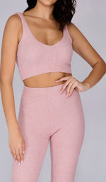 KIMBER Teddy Cami Top - Blush