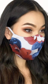 FLOWERS FASHION MASK