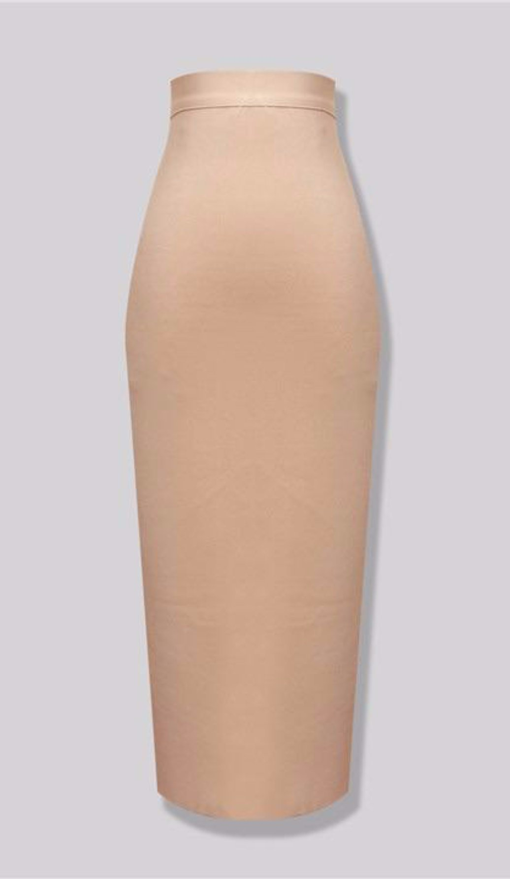 """NADIA"" Nude Pencil Skirt"