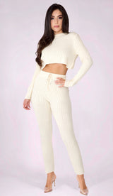 SYDNEY Ribbed Knit Pants