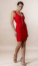 """VERONICA"" Corset Bandage Dress"