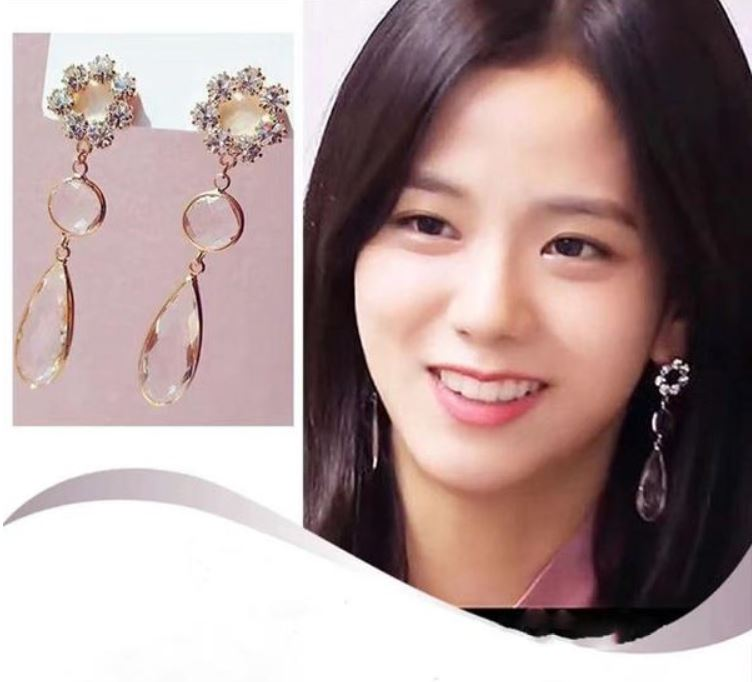 Jisoo Earrings (K-POP Edition) (2 Couleurs)