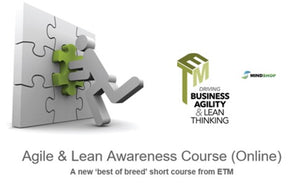 Agile & Lean Awareness Course (ETM-Online)