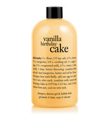 Vanilla Birthday Cake Shower Gel