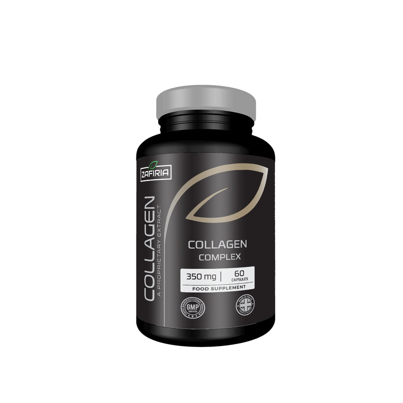 Collagen Complex 350 MG | Hyaluronic Acid| Vitamins C & A | 60 Capsules