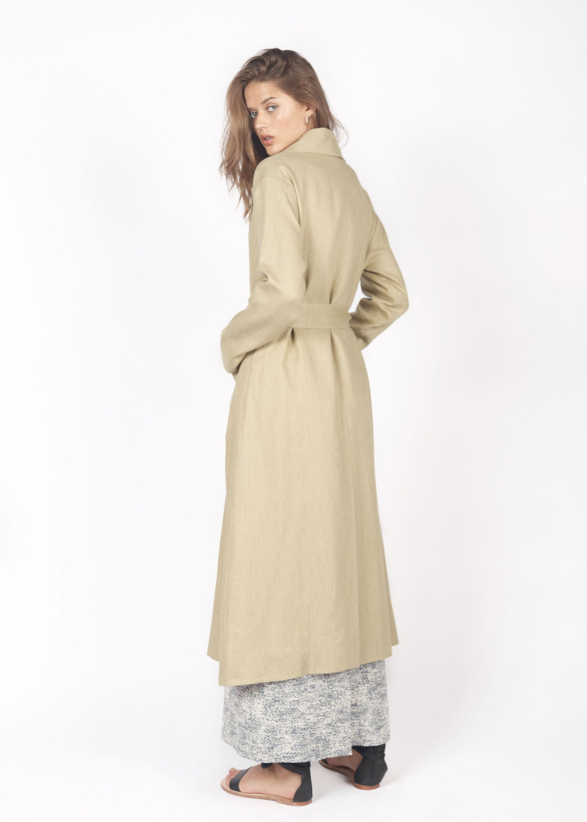 PISTACHIO TRAVEL COAT