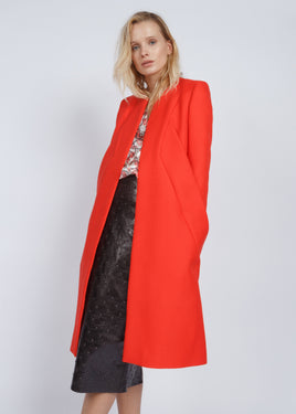 HAVEN COAT RED
