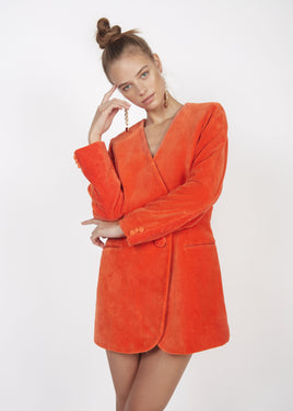 ORANGE PIERRE JACKET