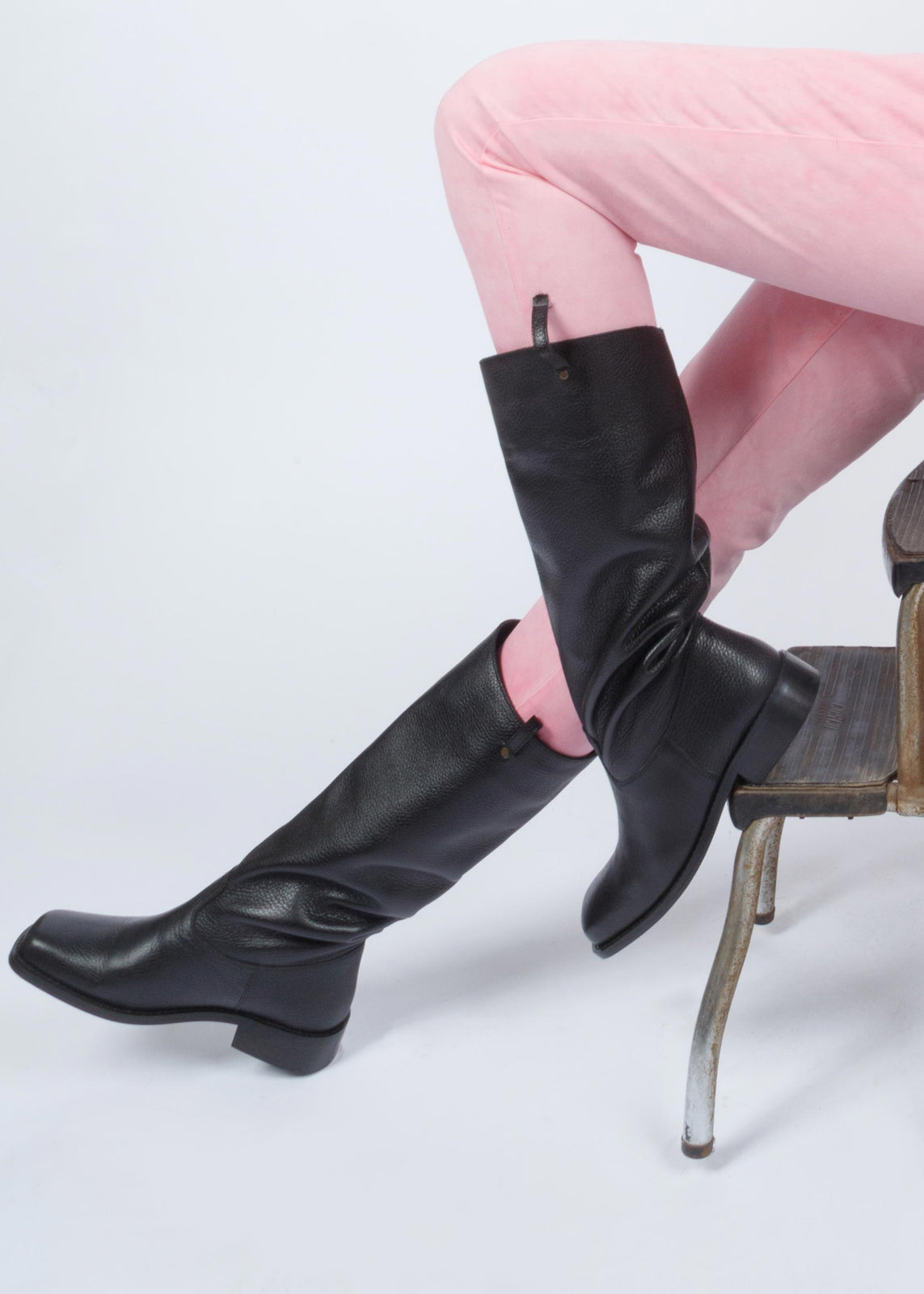 MELITA LEATHER BOOTS