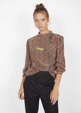 THE MOMA BLOUSE