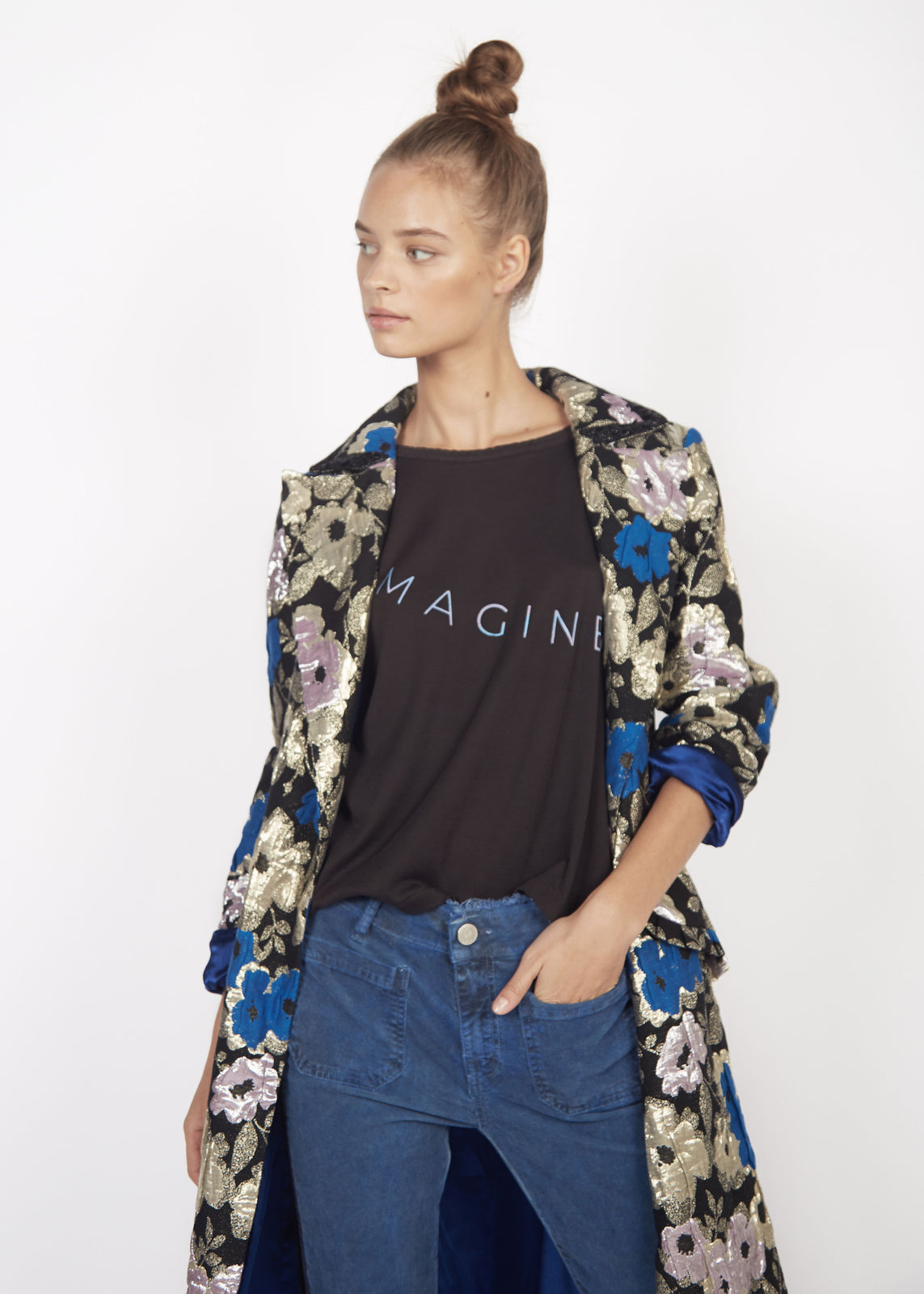 IMAGINE - NOIR TEE