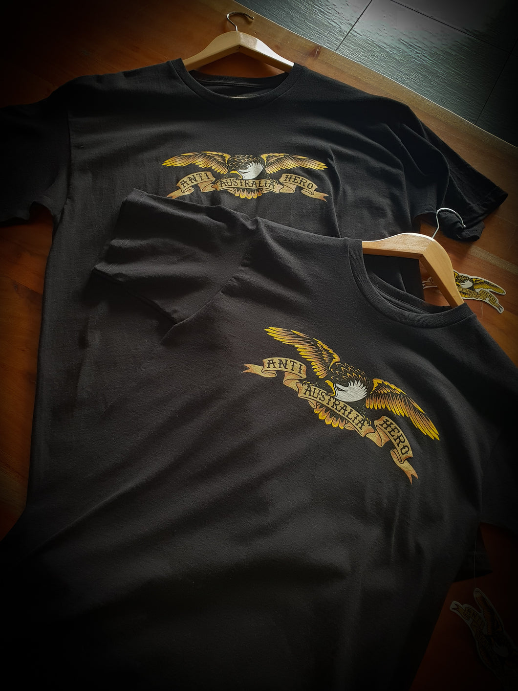 ANTI HERO - OZ EAGLE TEE - BLACK