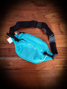 POLAR SKATE CO - CORDURA HIP BAG - AQUA