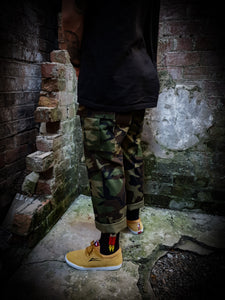 LOSER MACINE - BATES II CARGO PANTS - CAMO *ON SALE*