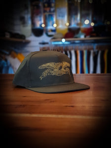 ANTI HERO - BASIC EAGLE ADJUSTABLE CAP - BROWN/GOLD