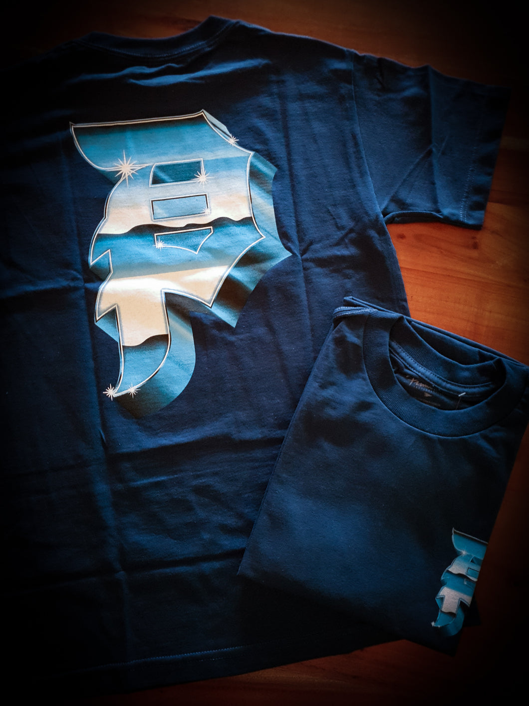 PRIMITIVE - HEAVYWEIGHT DIRTY P TEE - BLUE