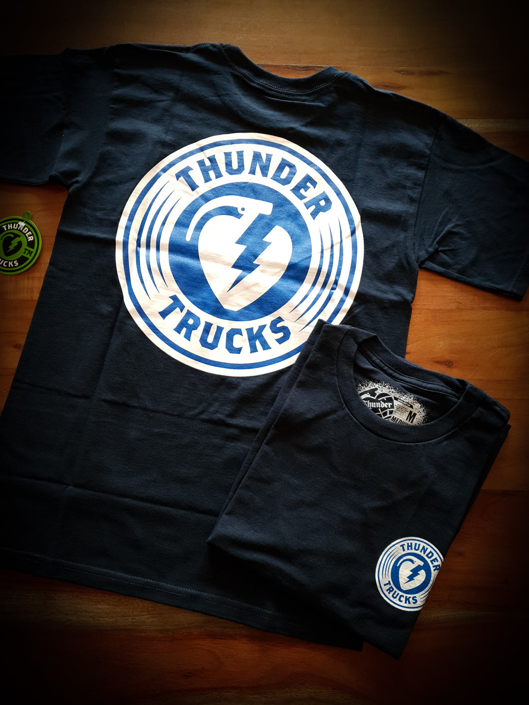 THUNDER - CHARGED GRENADE TEE - NAVY