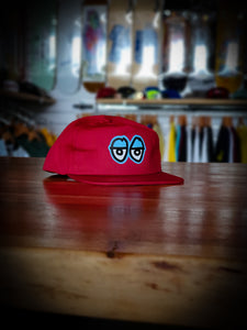 KROOKED - KROOKED EYES ADJUSTABLE CAP - RED