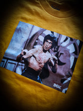Load image into Gallery viewer, DGK - BRUCE LEE SCRATCH TEE - YELLOW