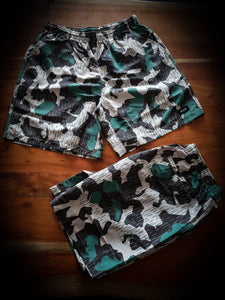 HUF - SAFARI EASY SHORTS - CAMO