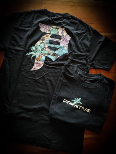 PRIMITIVE - BOTANICAL TEE - NAVY