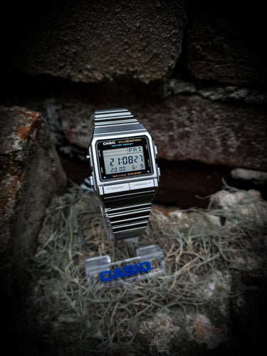 CASIO - VINTAGE DATABANK TELEMEMO WATCH - DB-380-1DF