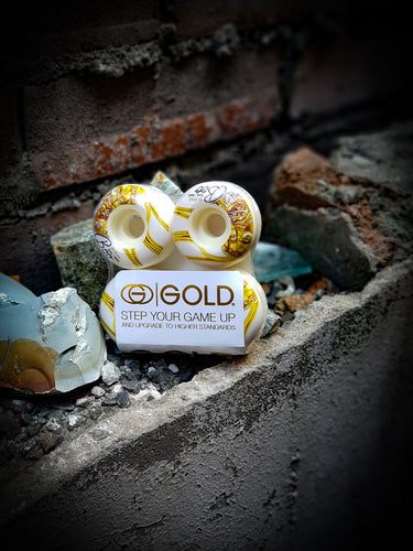 GOLD - SAVIOR BOO WHEELS - 51MM 102A