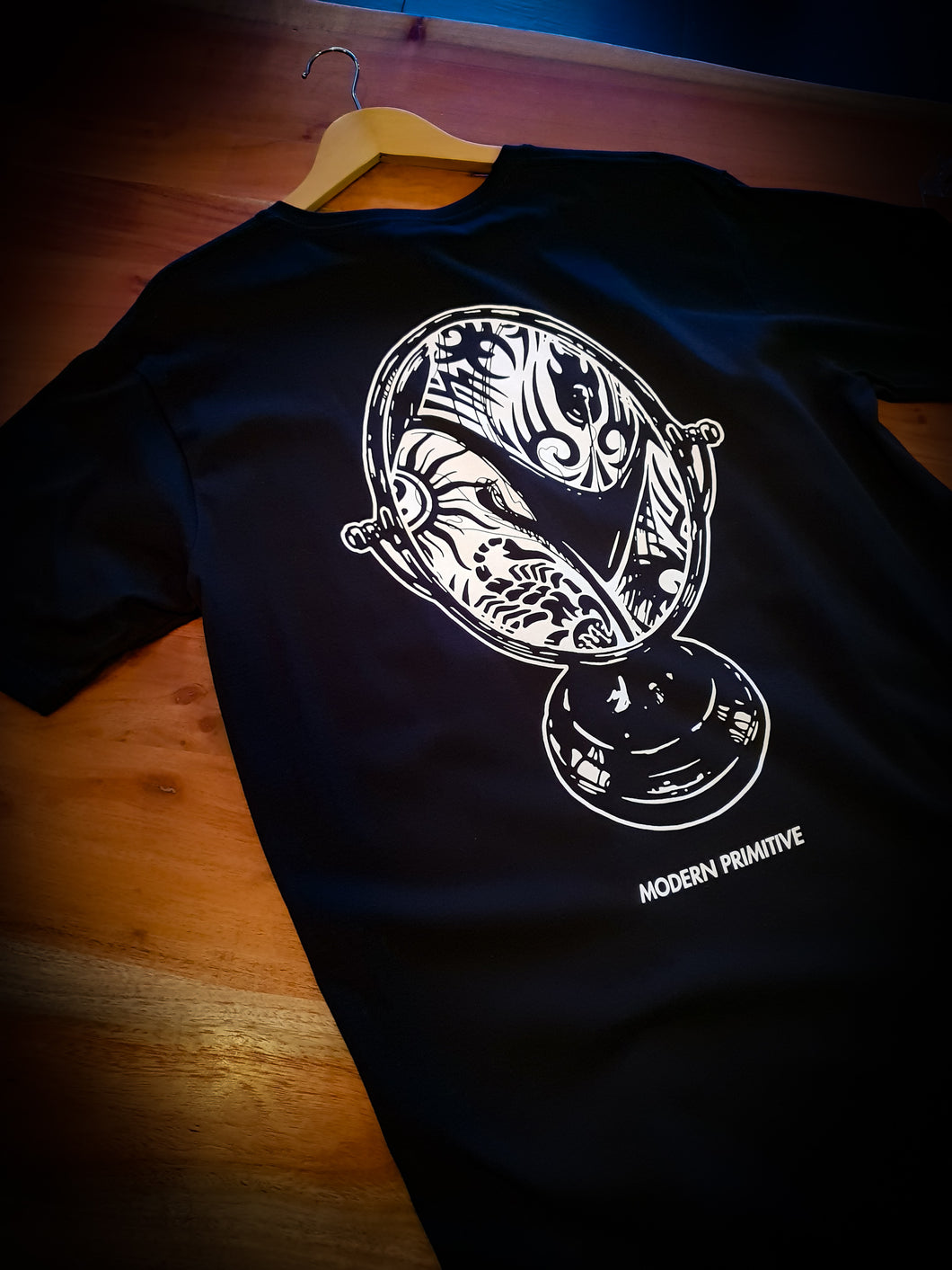 MARAUDER - MODERN PRIMITIVE TEE - BLACK *ON SALE*