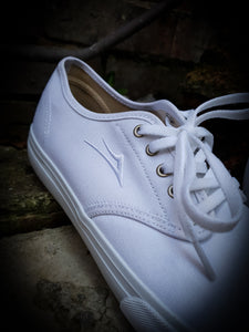 LAKAI - OXFORD SHOES - WHITE CANVAS