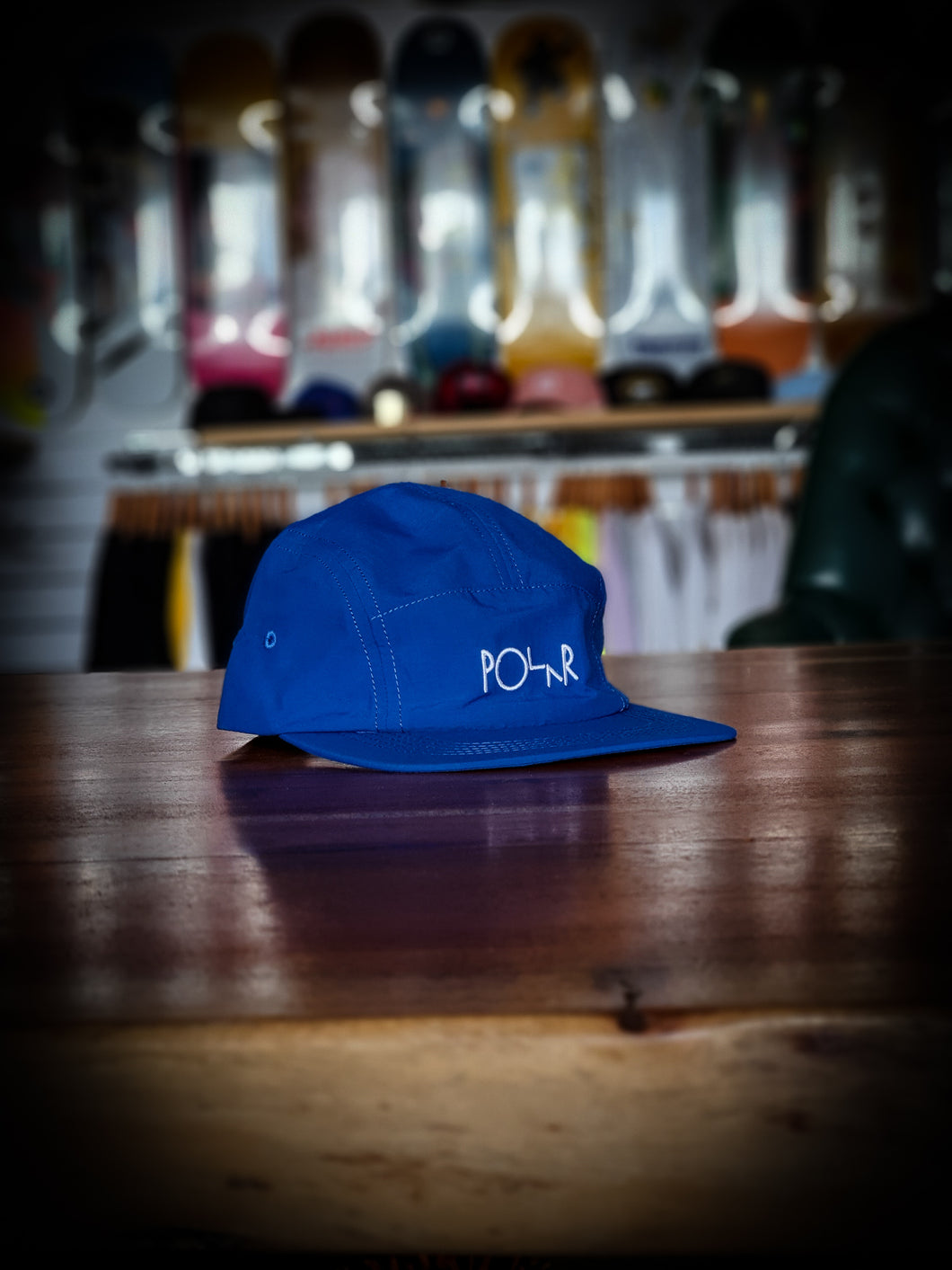 POLAR SKATE CO - LIGHTWEIGHT SPEED CAP - BLUE
