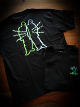 Load image into Gallery viewer, POLAR SKATE CO - ELECTRIC MAN TEE - BLACK