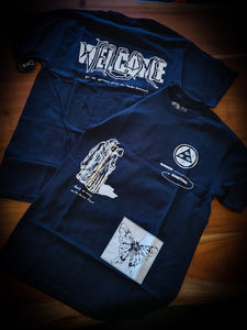 WELCOME - EXCESS PREMIUM TEE - BLACK