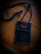 Load image into Gallery viewer, SPITFIRE - BIGHEAD WALLET LANYARD - BLACK