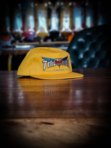 THRASHER - VENTURE COLLAB SNAPBACK - GOLD