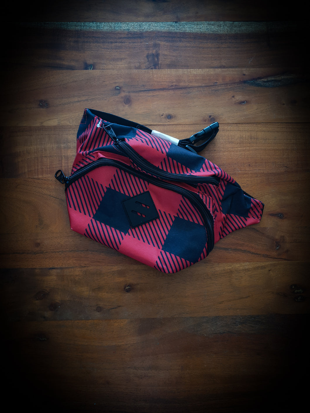 DICKIES - HIP SACK - RED TARTAN