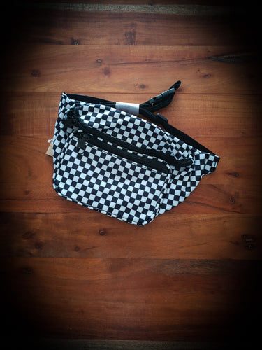 DICKIES - HIP SACK - BLACK/WHITE CHECK