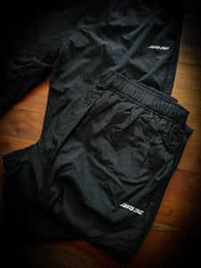 SANTA CRUZ - CRUZ NYLON PANTS - BLACK