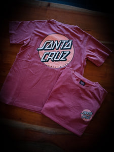 SANTA CRUZ - WOMENS OTHER DOT TEE - PIG PUNCH