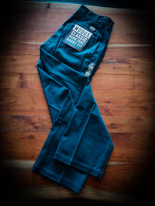 MODUS - WORK PANTS - BAGGY GREEN