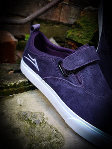 LAKAI - RILEY 2 VS SHOES - PURPLE SUEDE