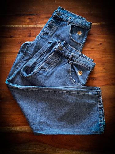 THE NEW DEAL - BIG DEAL JEANS - INDIGO DENIM