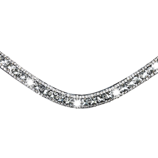 Storm crystal browband - Lumiere Equestrian